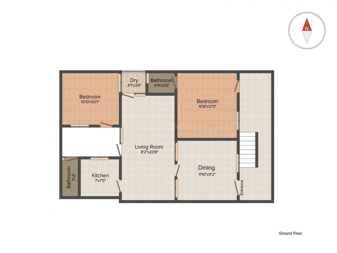 4 bhk independent house for sale in rein bazar yakutpura for 4 bhk house plan ground floor