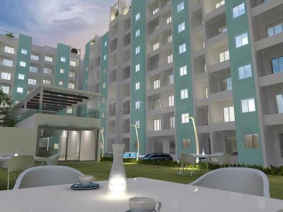Gallery Cover Image of 638 Sq.ft 1 BHK Apartment for buy in Panvelkar Aquamarine, Ambernath East for 2950000