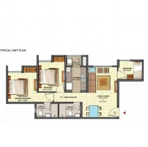 Gallery Cover Image of 1100 Sq.ft 3 BHK Apartment for buy in Dombivli East for 6500000