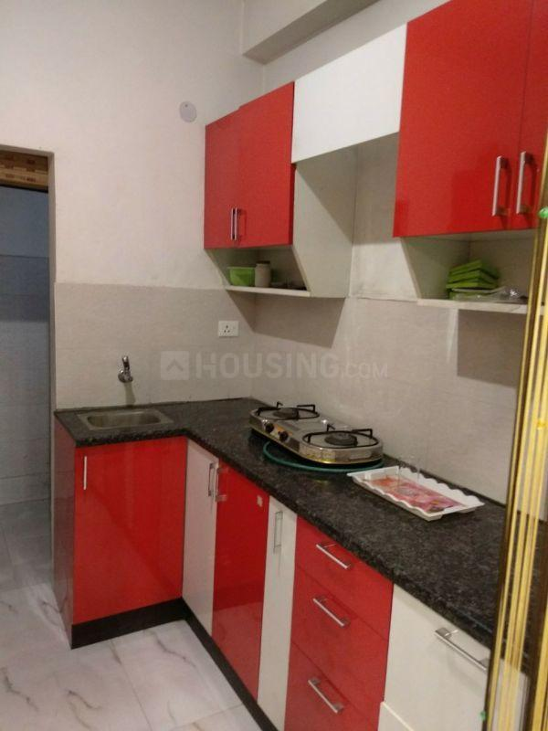 Kitchen Image of 900 Sq.ft 2 BHK Independent Floor for buy in Noida Extension for 1950000