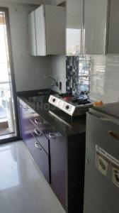 Kitchen Image of Hall Occupancy Available With Attached Balcony in Andheri West