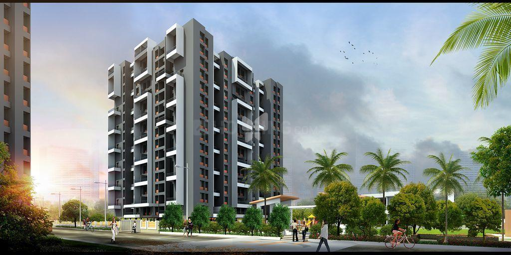 Building Image of 1050 Sq.ft 2 BHK Apartment for buy in Mundhwa for 5600000