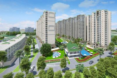 Gallery Cover Image of 1420 Sq.ft 3 BHK Apartment for buy in Kharar for 6233000