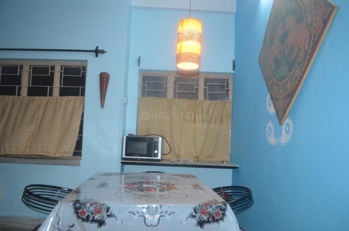 Living Room Image of 1050 Sq.ft 3 BHK Apartment for rent in Ganguly Bagan for 14500