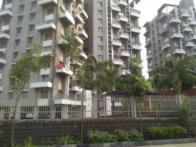 Gallery Cover Image of 890 Sq.ft 2 BHK Apartment for rent in Axis Whistling Meadows, Bhugaon for 14500