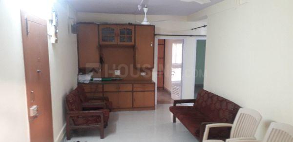 Living Room Image of 900 Sq.ft 2 BHK Apartment for rent in Vashi for 26000