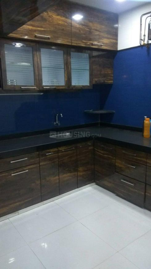 Kitchen Image of 900 Sq.ft 2 BHK Apartment for rent in Kandivali West for 27000
