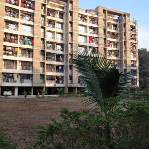Gallery Cover Image of 1050 Sq.ft 2 BHK Apartment for buy in Giriraj M K Thakur Complex Phase 1, Shilphata for 5200000
