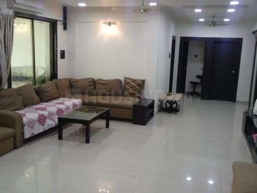Living Room Image of 1050 Sq.ft 2 BHK Apartment for rent in Kharghar for 17000