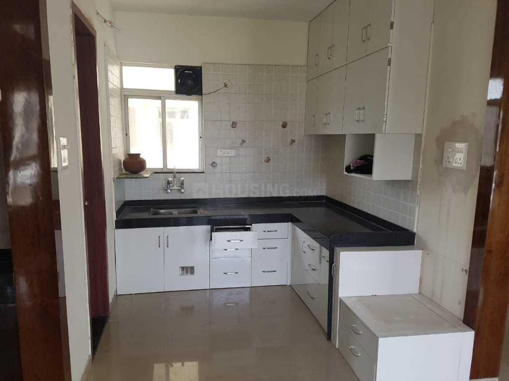 Kitchen Image of 1500 Sq.ft 3 BHK Apartment for rent in Bibwewadi for 30000