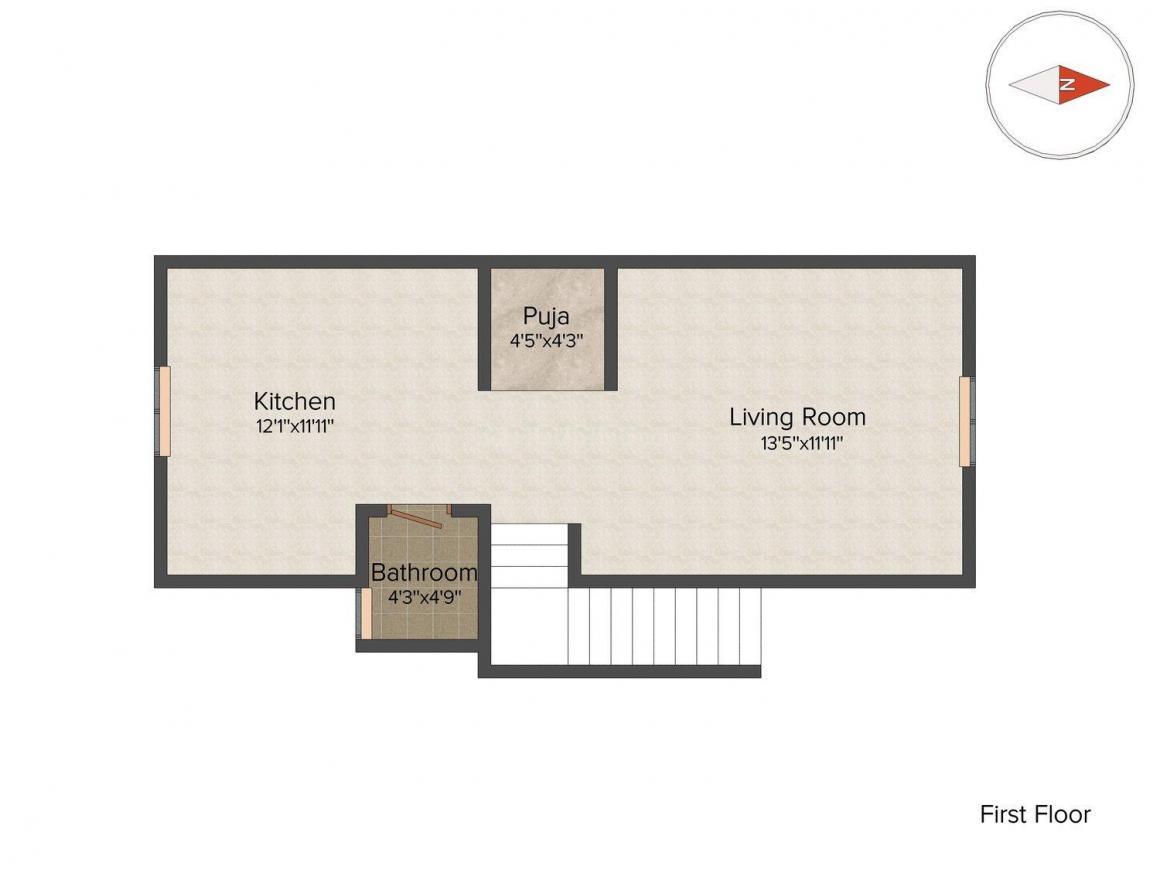 3 bhk independent house for sale in manjunatha nagar, basaveshwara