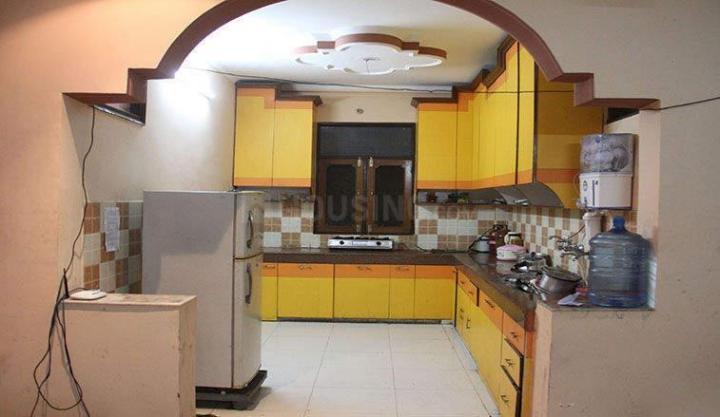 Kitchen Image of Om Shri Janhavi PG For Ladies in Shanti Nagar