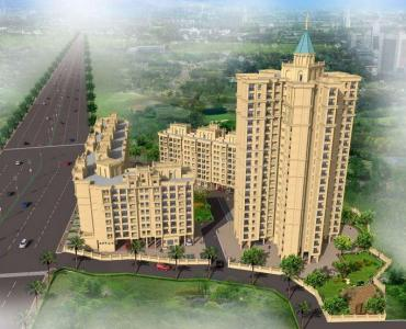 Gallery Cover Image of 700 Sq.ft 1 BHK Apartment for buy in Shilphata for 3900000