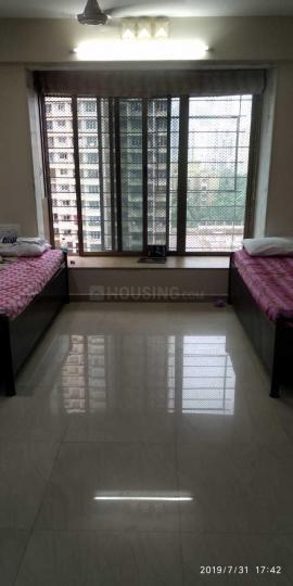 भांडूप वेस्ट में पीजी पवई के बेडरूम की तस्वीर