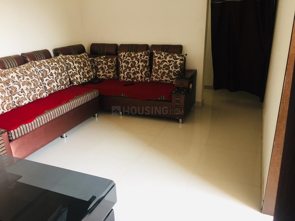Living Room Image of 950 Sq.ft 2 BHK Apartment for rent in Wagholi for 12000