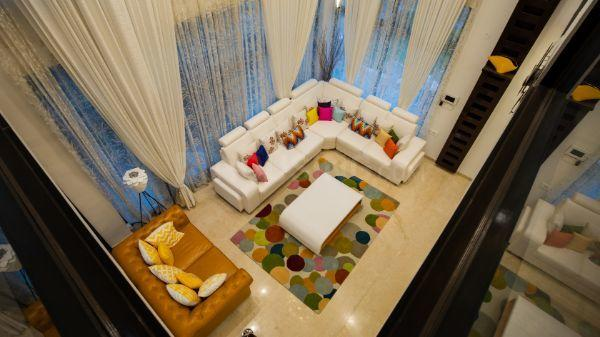 Living Room Image of 4100 Sq.ft 3 BHK Independent House for buy in Rajanukunte for 25000000