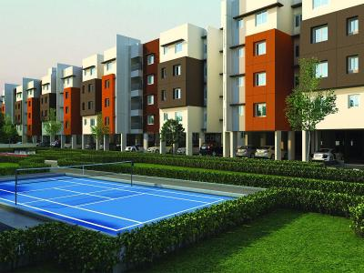 Gallery Cover Image of 877 Sq.ft 2 BHK Apartment for buy in Padapai for 3300000