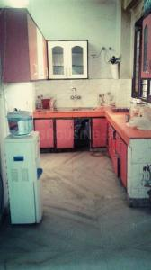 Kitchen Image of Paying Guest Accommodation For Working Professional Girls In Sushant Loc Phase 1 in Sushant Lok I