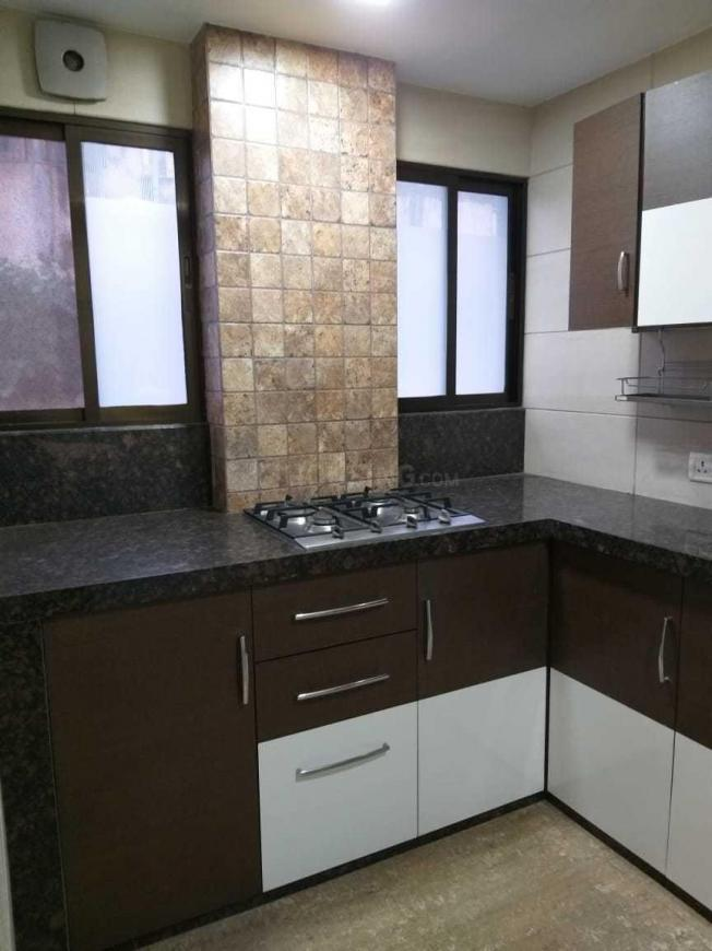 Kitchen Image of 650 Sq.ft 1 BHK Apartment for rent in Worli for 70000