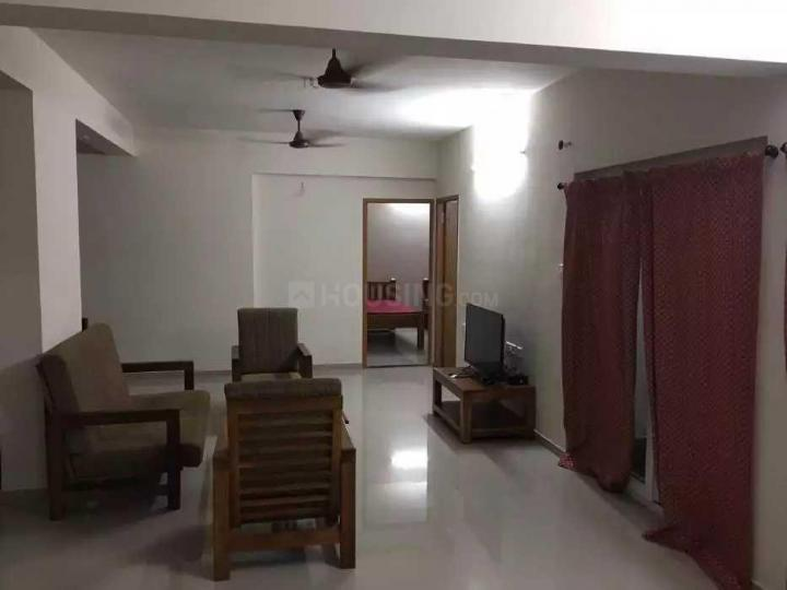 Living Room Image of 1400 Sq.ft 3 BHK Apartment for rent in Semmancheri for 8500