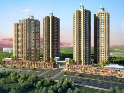 Gallery Cover Image of 970 Sq.ft 3 BHK Apartment for buy in Orovia Phase 1, Thane West for 12200000