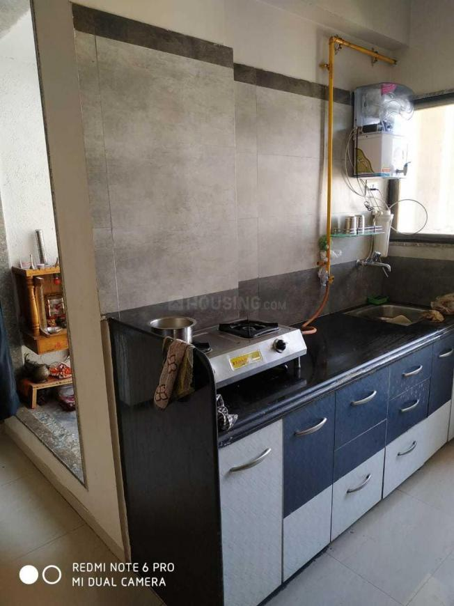 Kitchen Image of 125 Sq.ft 2 BHK Apartment for buy in Prahlad Nagar for 6250000
