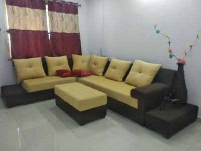 Gallery Cover Image of 750 Sq.ft 1 BHK Independent House for rent in Thergaon for 20000