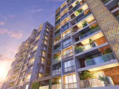 Gallery Cover Image of 950 Sq.ft 2 BHK Independent Floor for buy in Legacy Fortune Exotica, Ravet for 4450000