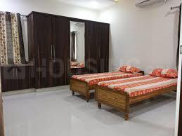 ठाणे वेस्ट में हीरानंदानी यन्ह में बेडरूम की तस्वीर
