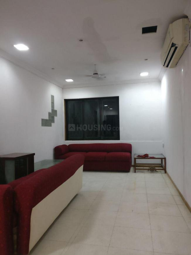 Living Room Image of 1600 Sq.ft 3 BHK Apartment for rent in Juhu for 100000