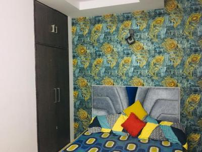 Gallery Cover Image of 450 Sq.ft 1 BHK Independent Floor for rent in Mahavir Enclave for 14000