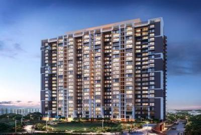 Gallery Cover Image of 733 Sq.ft 2 BHK Apartment for buy in Chandak Nischay, Dahisar East for 13200000