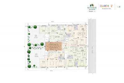 Gallery Cover Image of 855 Sq.ft 2 BHK Apartment for buy in Sekaran Woodrow Manor, Sithalapakkam for 2993000