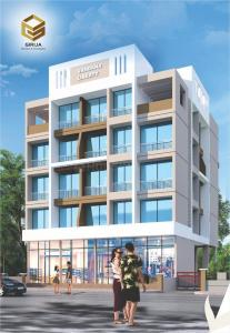 Gallery Cover Image of 595 Sq.ft 1 BHK Apartment for buy in Karanjade for 3200000