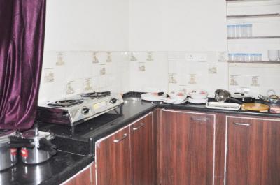 Kitchen Image of Flat No 501 Sai Gracia Apartments in Begumpet