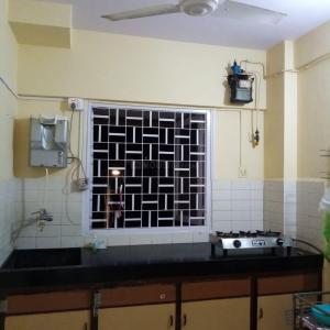 Kitchen Image of Fully Furnished Apartment For Girls in Bandra West