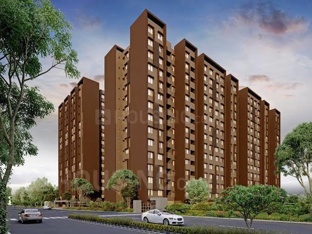 Building Image of 645 Sq.ft 2 BHK Apartment for buy in Arvind Aavishkaar, Bapunagar for 2500000