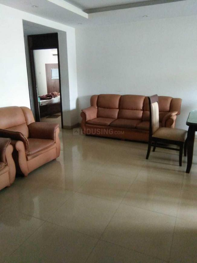 Living Room Image of 1350 Sq.ft 2 BHK Apartment for rent in Ejipura for 36000