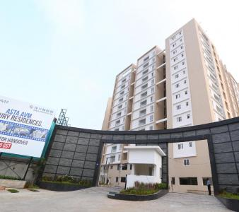 Gallery Cover Image of 1420 Sq.ft 3 BHK Apartment for buy in Sapthrishi Asta AVM, Vadapalani for 13490000
