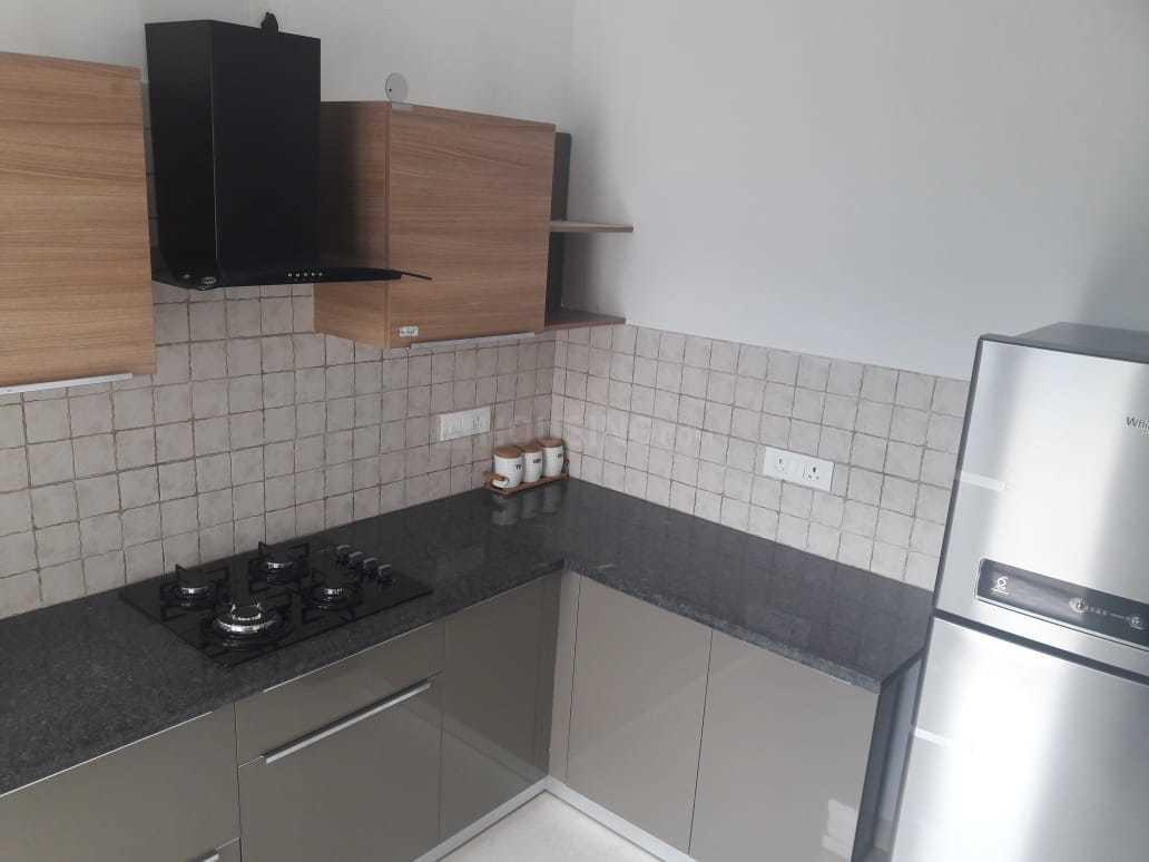 Kitchen Image of 1335 Sq.ft 3 BHK Apartment for rent in Noida Extension for 10000