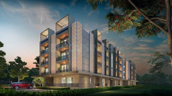 Brochure Image of 1130 Sq.ft 2 BHK Apartment for buy in Elite Residency by Elite Developers, AG Colony for 7345000