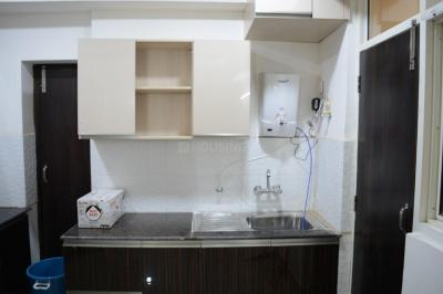 Kitchen Image of Stayhook-one Room In 3bhk Fully Furnished Apartment in Sector 74