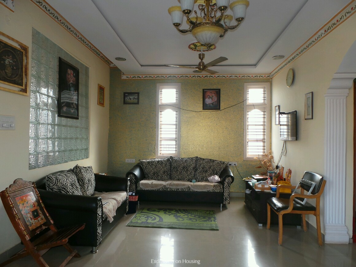 Living Room One Image of 4800 Sq.ft 5+ BHK Independent House for buy in Nagavara for 26000000