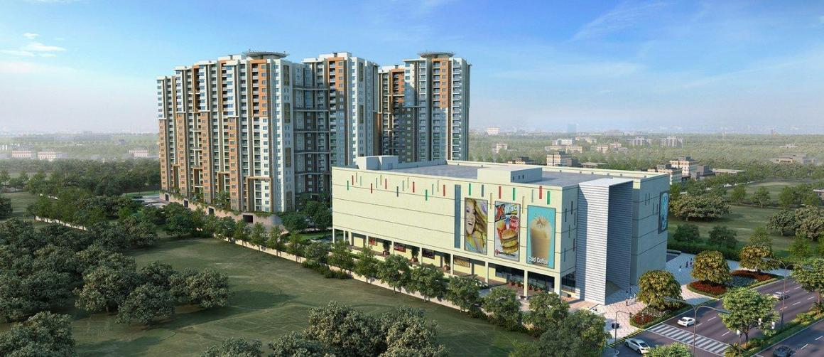 Building Image of 1180 Sq.ft 2 BHK Apartment for buy in Nayandahalli for 7000000