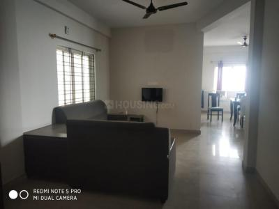 Gallery Cover Image of 1300 Sq.ft 3 BHK Apartment for rent in Pioneer Sun Blossom, Electronic City for 19000