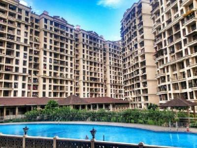 Gallery Cover Image of 660 Sq.ft 1 BHK Apartment for rent in Nisarg Hyde Park, Kharghar for 14500
