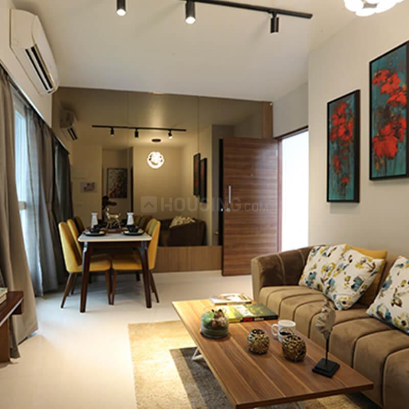 Living Room Image of 1300 Sq.ft 3 BHK Apartment for rent in Panvel for 16000