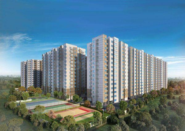 Building Image of 618 Sq.ft 1 BHK Apartment for buy in Alliance Galleria Residences, Old Pallavaram for 3829998