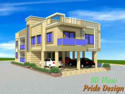 Gallery Cover Image of 1000 Sq.ft 3 BHK Independent House for rent in Lohegaon for 8000