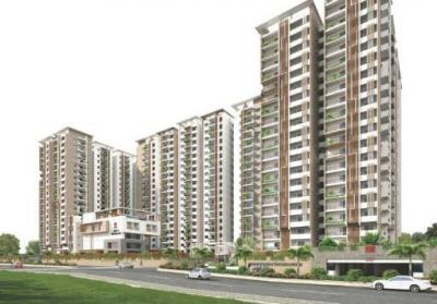 Gallery Cover Image of 1945 Sq.ft 3 BHK Apartment for buy in Rajapushpa Regalia, Kokapet for 12400000